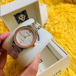 Final Sale💥Ann Klein Watch  0.005 ctw diamonds